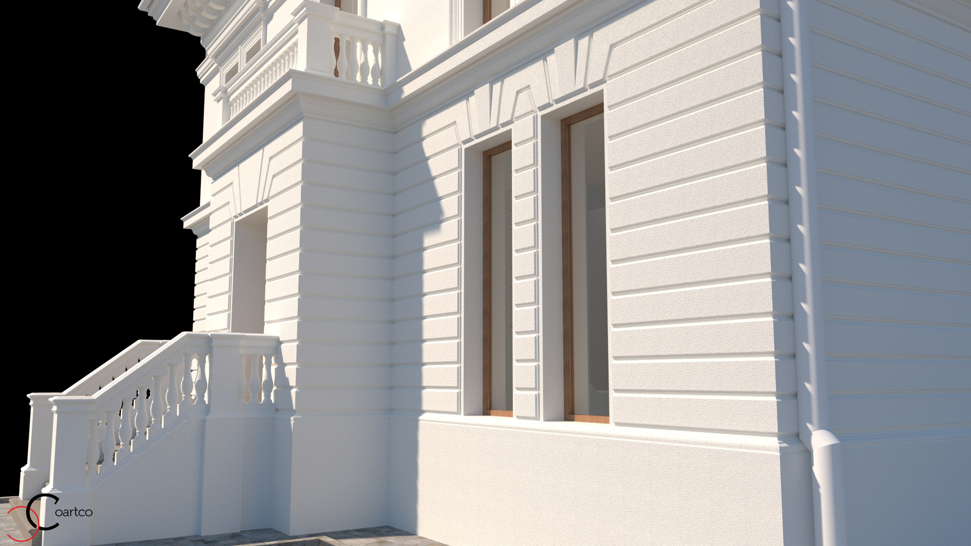 fatada-casa-neo-clasica-cu-elemente-arhitecturale-culori