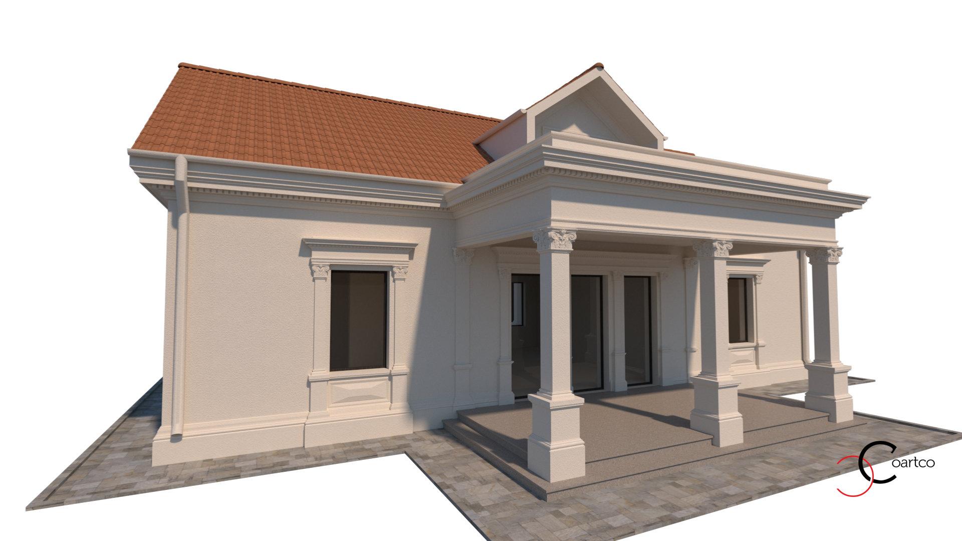 casa-cu-terasa-si-coloane-patrate